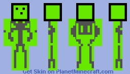 Slime Droid Minecraft Skin