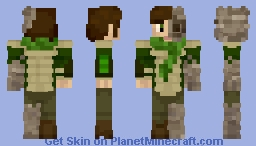 EarthBender (1.8 Ready) (also 1.7 skin ) Minecraft Skin