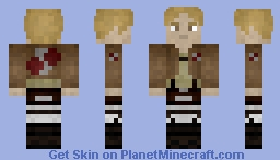 Ian Dietrich - Attack on Titan Minecraft Skin