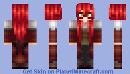 Grell Sutcliff -- UPDATED Minecraft Skin