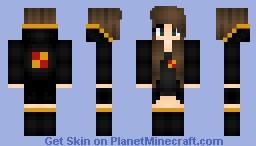 Gryffindor girl skin minecraft