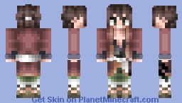 ¤ɱio¤ Request - Souji Okita from Hakuouki Minecraft Skin