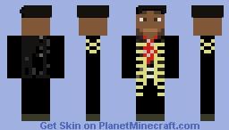 Jimi Hendrix for AquaGirl's Musician Contest Minecraft Skin