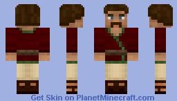 Parthian man Minecraft Skin