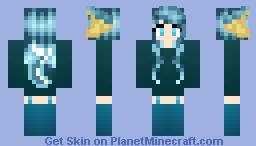 ~*ρόδο*~ Vaporeon! Eeveelution Series! Minecraft Skin