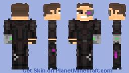 Rex Power Colt Far Cry 3 Blood Dragon Minecraft Skin