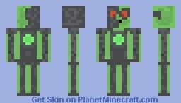 Slime Cyborg Minecraft Skin