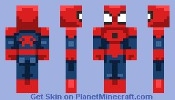 Ultimate Spider-Man Minecraft Skin