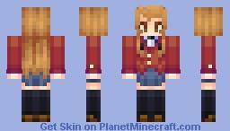 Taiga Aisaka (1.8v) - Now with other Toradora skins :3 I will add as I go o/ Minecraft Skin