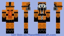Hazmat Dude Minecraft Skin