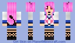 Yui [Angel Beats] Minecraft Skin