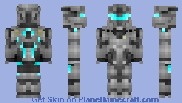 Agent Locke - Halo 5: Guardians Minecraft Skin