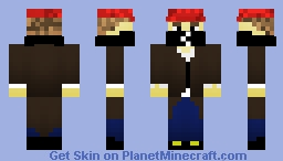 Aiden Pearce from Watch Dogs Minecraft Skin