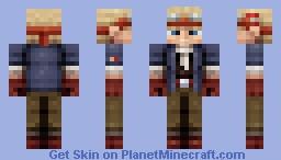 Cid Highwind - FF7 Minecraft Skin