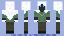Cloaked Rogue Mage Minecraft Skin