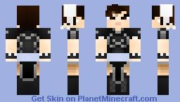 ✩ dark Chun Li ✩ Minecraft Skin