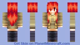 ❤∂αηιcα❤ - Shana | Shakugan no Shana ~Pop Reel~ Minecraft Skin