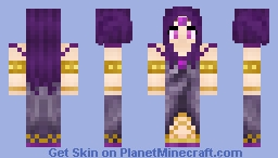 Goddess Ianite (Season 1) Minecraft Skin