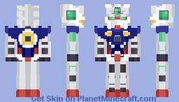 Gundam : Gundam Exia Minecraft Skin