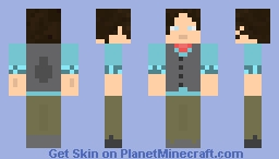 Jack Kelly Newsie! Minecraft Skin