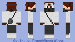 Arctic Rogue Minecraft Skin