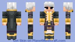 Fire Emblem: Avatar (Robin) Minecraft Skin