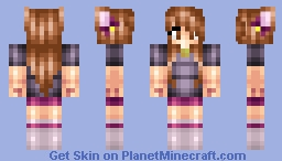 Meggles Fan Skin! Minecraft Skin