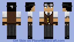 Auvvi the Man Minecraft Skin