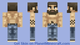 Now you're a MAN! Minecraft Skin