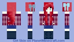 •~Foxy~• Pinkish sweater?? Minecraft Skin