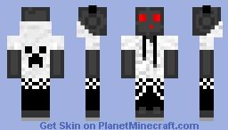 Dark grey Slime Minecraft Skin
