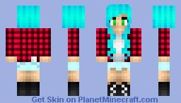 Punk Amanda Minecraft Skin