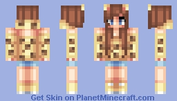 Cheetah Girl Minecraft Skin