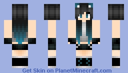 ❄хgσgglєsх❄ [80 sub special] Me [Yes I have blue tips] Minecraft Skin