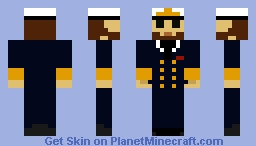 German Navy Formal Uniform (Winter) Minecraft Skin
