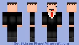 [Extra Content!] Tuxedo Derp Minecraft Skin