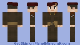 A Bridge Too Far - Lieutenant General Frederick Arthur Montague Browning, C.O of the 1st Airborne Division Minecraft Skin