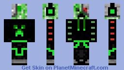 Robo creeper Minecraft Skin