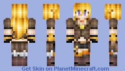 Yang [RWBY] Minecraft Skin