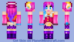 Arcade Miss Fortune [League of Legends] (Speed Art) Minecraft Skin
