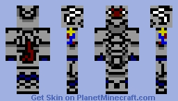 Dyscid (Armor Soldier) Minecraft Skin