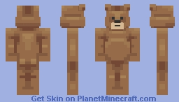 Barry, the big-boned bear. Minecraft Skin