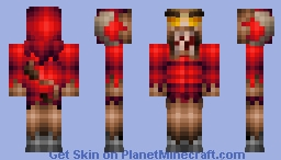 Blood Minotaur - Updated Minecraft Skin
