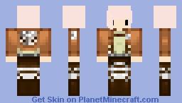 ∼ΜØΠ§ŦΞℜ∼ me in erins clothes from attack on titan! Minecraft Skin