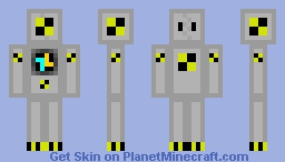 Crash Test Bot Minecraft Skin