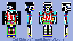 Epileptic Minecraft Skin