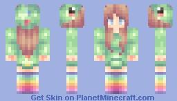 Ƹ̵̡Ӝ̵̨̄Ʒ Fly:. ʕ≧ᴥ≦ʔノ*:・゚✧Skin Request*:・゚✧ Illuminotic [Dino-Hoodie] Minecraft Skin
