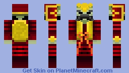 General Akamoto (Hit the Target) Minecraft Skin