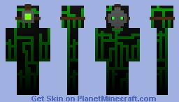 Ghosthacker Minecraft Skin