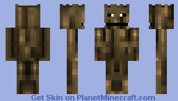 Groot 2014 [Guardians of the Galaxy Serie] Minecraft Skin